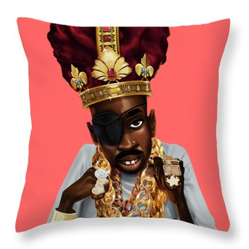 The Rula Throw Pillow by Nelson Dedos Garcia