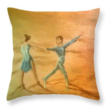 The Rumba Extension Throw Pillow