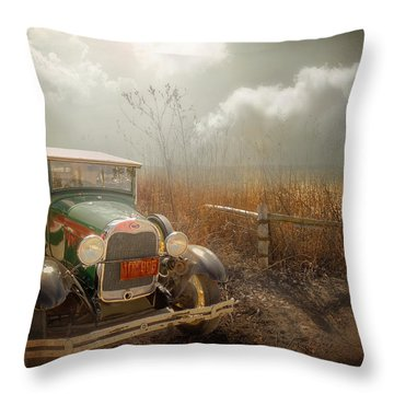 The Rural Route Throw Pillow