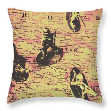 Figurine Throw Pillows