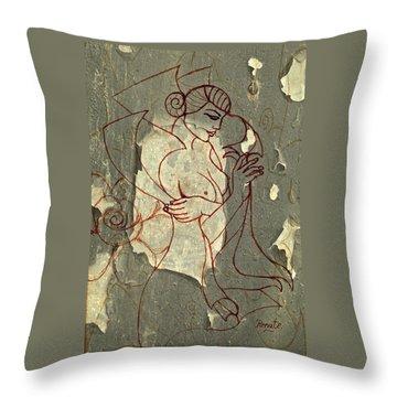The Sacred Feminine..... Throw Pillow