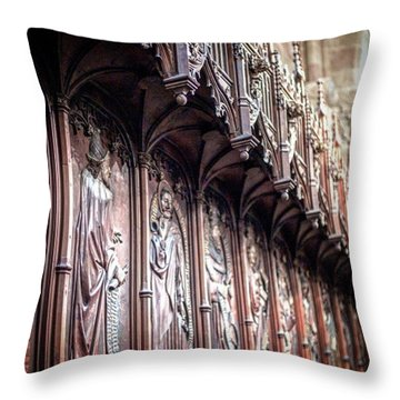 The Saints Of Old Throw Pillow