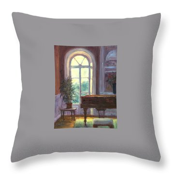 The Salon Throw Pillow by Jill Musser