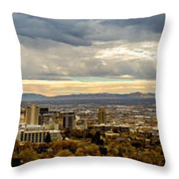 The Salt Lake Valley 2016 Throw Pillow