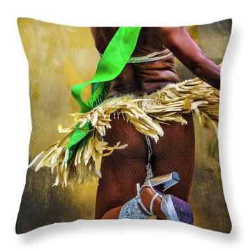 Throw Pillow featuring the photograph The Samba Dancer by Chris Lord