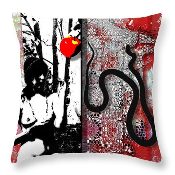 The Same Old Story - All About Eve Throw Pillow