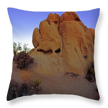 The Sand Castle Throw Pillow