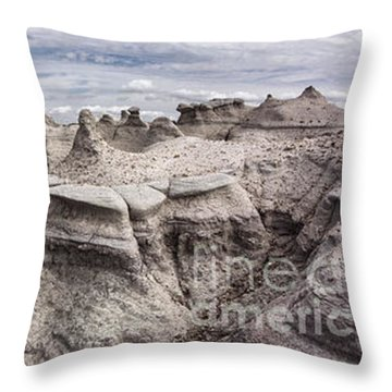 The Sandcastles Throw Pillow