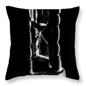 The Sands Of Time Throw Pillow