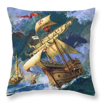 The Santa Maria Throw Pillow