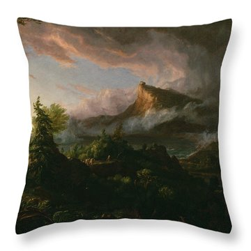 The Savage State Throw Pillow
