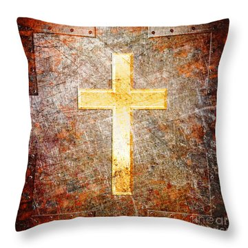 The Savior Throw Pillow