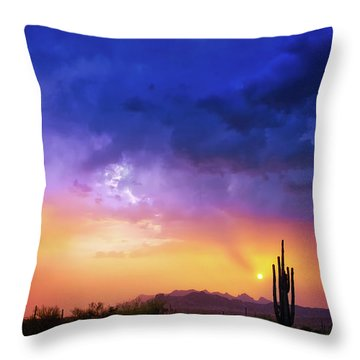 The Scent Of Rain Throw Pillow