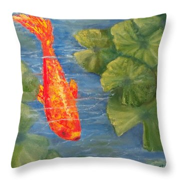 The Scout Throw Pillow by Annie St Martin