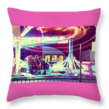 The Scrambler Throw Pillow