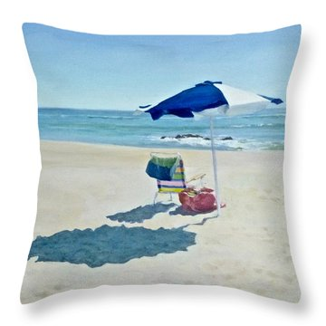 The Sea Air Throw Pillow