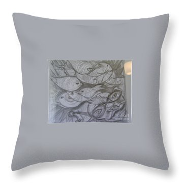 The Sea Diver Throw Pillow