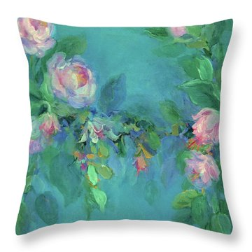 The Search For Beauty Throw Pillow by Mary Wolf
