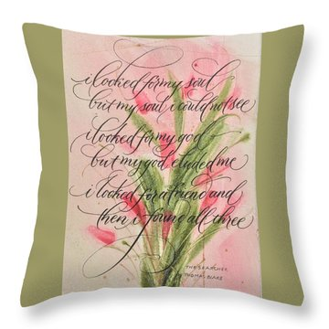 The Searcher II By Thomas Blake Throw Pillow