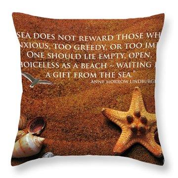 The Sea's Reward 2016 Throw Pillow
