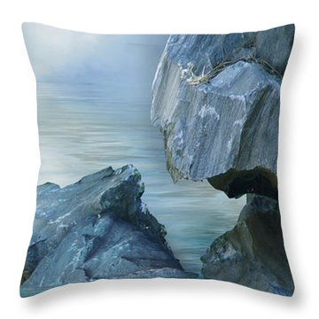 The Second Day Throw Pillow by Julie Rodriguez Jones