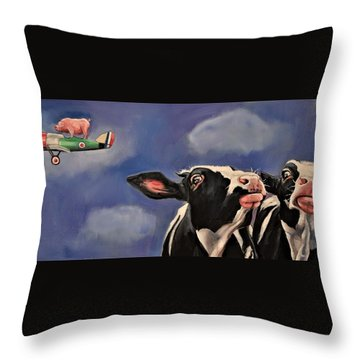The Second Great Escape Throw Pillow
