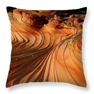 The Second Wave Throw Pillow