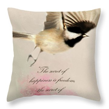 Throw Pillow featuring the photograph The Secret by Darren Fisher