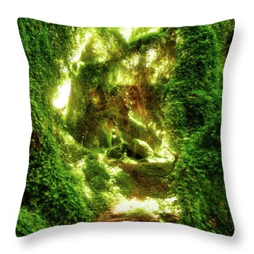 The Secret Garden, Perth Throw Pillow by Dave Catley