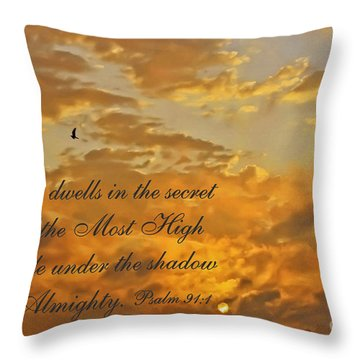 The Secret Place Throw Pillow