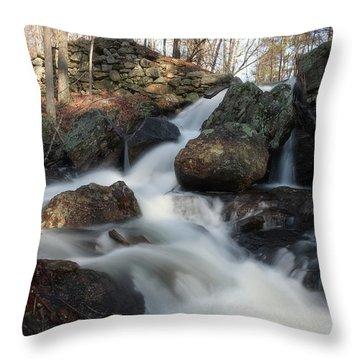 The Secret Waterfall 2 Throw Pillow