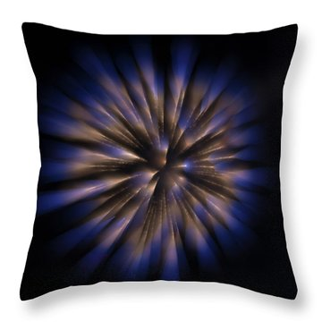 The Seed Of A New Idea Throw Pillow