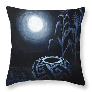 The Seed Pot Throw Pillow by Jerry McElroy