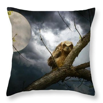The Seer Of Souls Throw Pillow