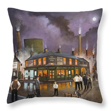 The Selby Boys Throw Pillow