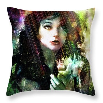 The Sensual World Throw Pillow