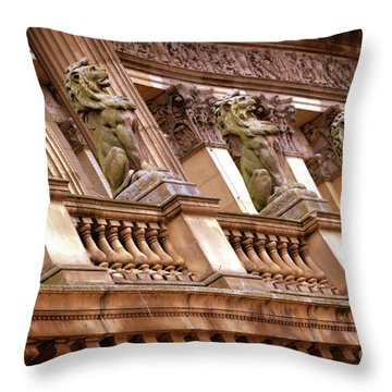 The Sentinels Throw Pillow by Stephen Melia