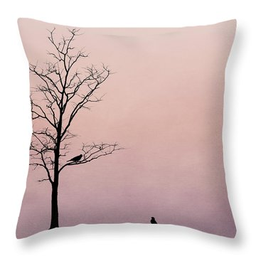 Throw Pillow featuring the photograph The Serenade by Tom Mc Nemar