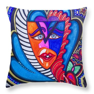 The Serpent Within Throw Pillow