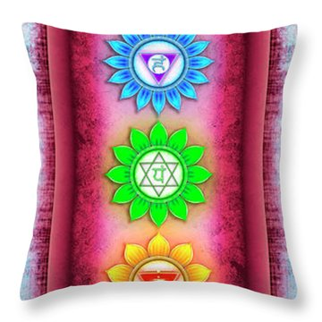 Mandal Throw Pillows