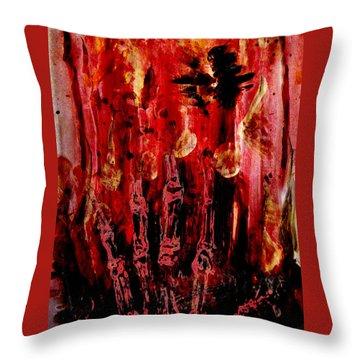 The Seven Deadly Sins - Wrath Throw Pillow