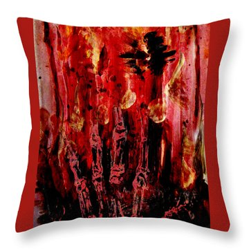 The Seven Deadly Sins - Wrath Throw Pillow