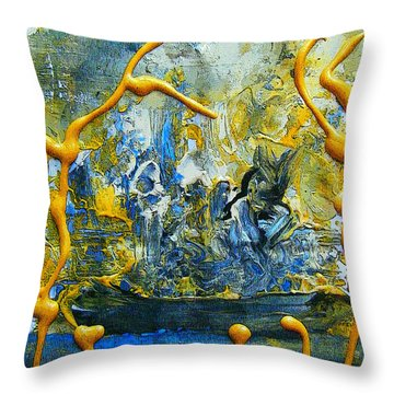 The Seven Sins- Greed Throw Pillow