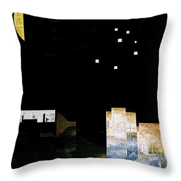 The Seven Sisters Throw Pillow by RC deWinter