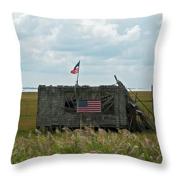The Shack Throw Pillow