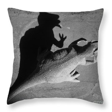 The Shadow Is Mightier Img 2095 Throw Pillow