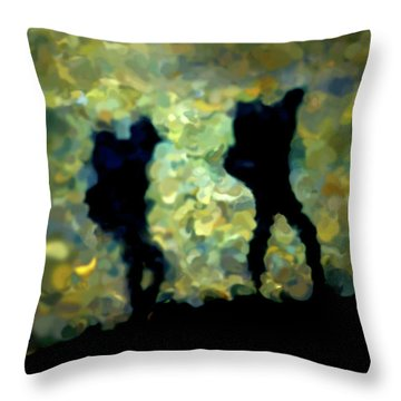 The Shadowalkers Throw Pillow