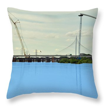 The Shape Of Things To Come Throw Pillow
