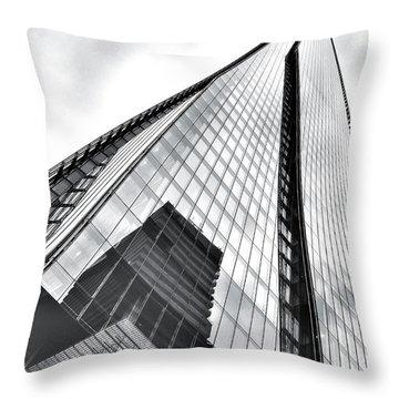 The Shard Building Throw Pillow