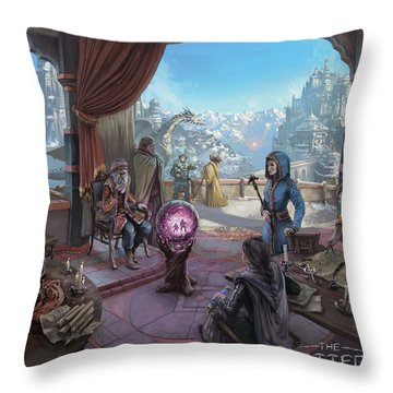 The Shattered Throw Pillow